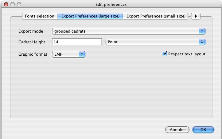 Copy preferences
