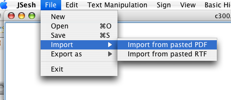 Importing PDF