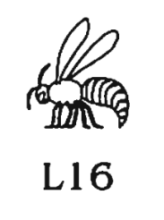 L16 sign from Hieroglyphica